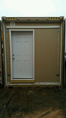 Shipping Container as Workshop/Office/Home/Storage with Electrics and Insulation