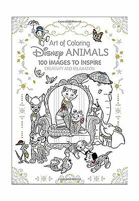 Art Of Coloring Disney Animals 100 Images To Inspire Creativity And Relaxat