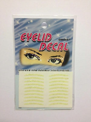 Eyelid Decal - Ladies Stick On Glitter Eyeliner. Easy On/Off - Standard Shape