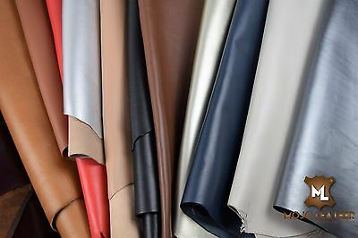 Leather Hide Skin NAPPA VARIOUS COLORS & SIZES HIGH QUALITY PREMIUM LEATHER