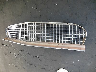 Factory Original 1957 Thunderbird Chrome Grill/lower Moulding/driver Or Restore