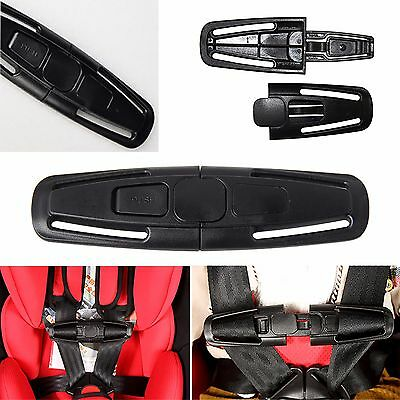 UK Baby Kids Car Safety Seat Strap Child Toddler Chest Harness Clip Safe Buckle