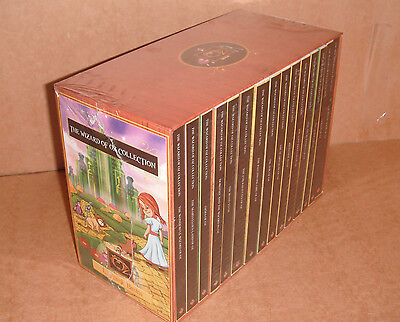 The Wizard of OZ Collection 15 Books Box Set by L. Frank Baum Paperback NEW