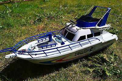 Fire Fighting Ship Radio Remote Control Boat Yacht Two 130 Type Motor 1/25