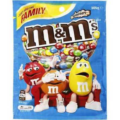 Mars M&m's Crispy Bag - 305g