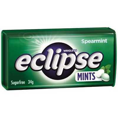 Eclipse Spearmint Hard Pressed Mints - 34g