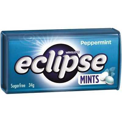 Eclipse Peppermint Hard Pressed Mints - 34g