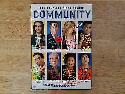 The Community: The Complete First Season (DVD, 2010, 4-Disc Set)