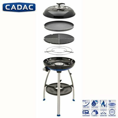 """Cadac Carri Chef 2 BBQ/Chef Pan Combo (2019 MODEL) """"NEW INNOVATIONS"""" FREE COVER"""
