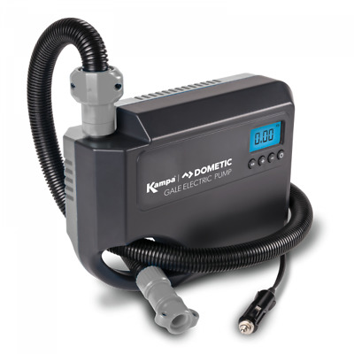 Kampa Gale 12v High Pressure Electric Pump for Air awnings & SUP's etc.
