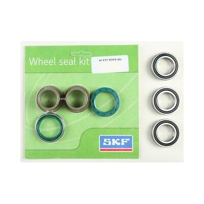 SKF Rear Wheel Bearing Kit for Honda 2002-17 CRF 250 450 WSB-KIT-R003-HO