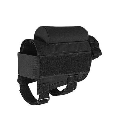 Portable Tactical Package Stock Holder AmmoCartridge Pouch Bag Hand Padded