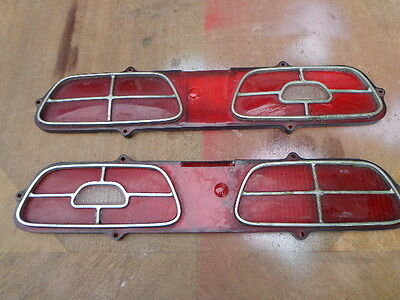 Mercury Montego Comet Cyclone Right Left Hand Tail Light Lens 1970-1977 70MO
