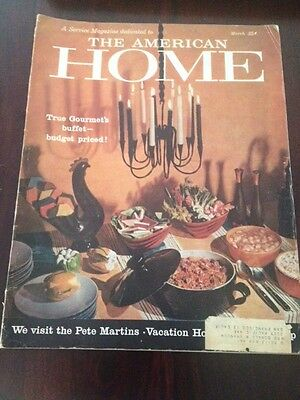 The American Home Magazine - March 1959 - Vintage Advertisements, '50's Food