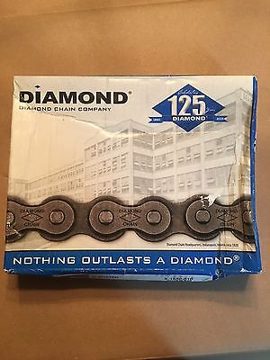 Diamond X-1550-010 50 Riv Roller Chain 10' Made In Usa