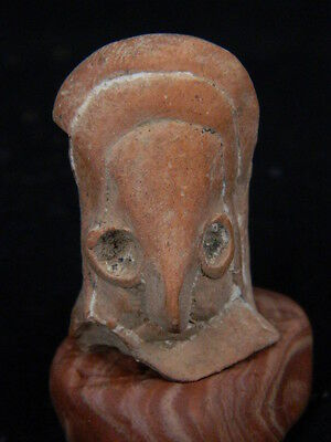 Ancient Teracotta Mother Goddess head Indus Valley 2000 BC #TR15234