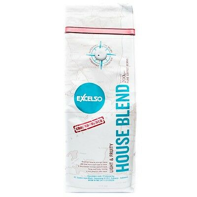 Excelso House Blend Powder 200g Scent Aroma 100% Premium Quality Coffee