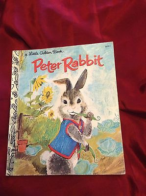Little Golden Book- Paperback Book- Peter Rabbit