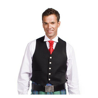 Argyll 5 Button Formal Vest Kilt Mens Size 40 Wool