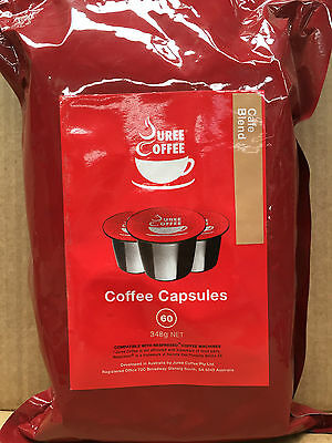180 x Coffee Pods / Capsules 5.8g, Cafe Blend ,Nespresso Compatible