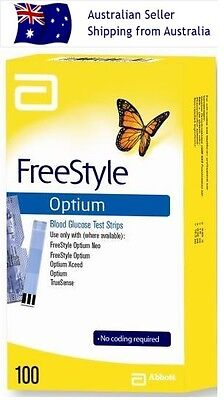 FreeStyle Optium Test Strips 100 (Exp: 30/04/18)