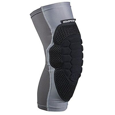 Empire Paintball Neoskin Knee Pads - Black/Grey