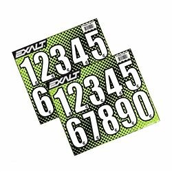 Exalt Paintball Loader Number Stickers - All Colors