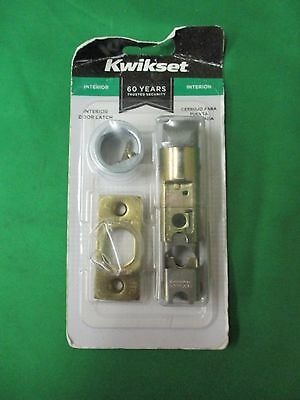 Kwikset Interior Door Latch Bright Brass