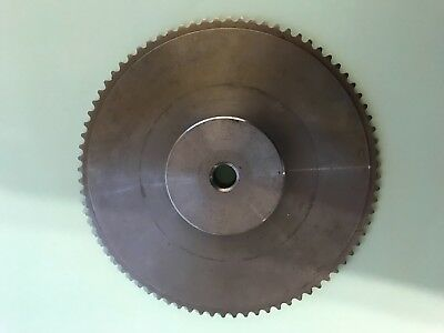 "#25 Roller Chain Sprocket 1/4""pitch 6.35 50 Tooth and 80 Tooth"