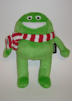 Rare Htf Cricket Wireless Plush Stuffed Animal Green Mascot Character Monster Ec