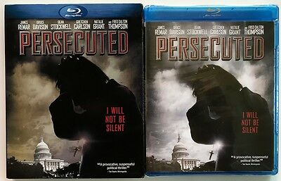 New Sealed Persecuted Blu Ray + Slipcover Sleeve Free World Wide Shipping Buy It