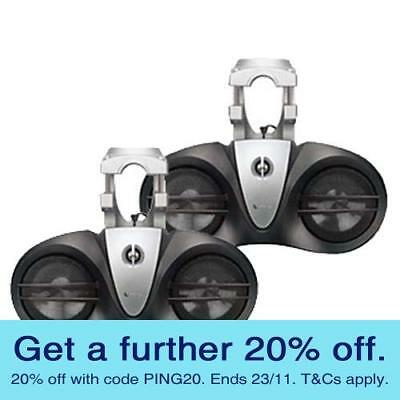 Infinity 6000M Wakeboard Tower Speakers - AUST RETAILER & WARRANTY