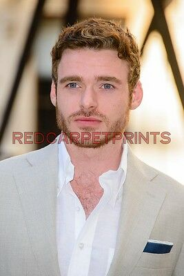 Lily James /& Richard Madden Poster Picture Photo Print A2 A3 A4 7X5 6X4