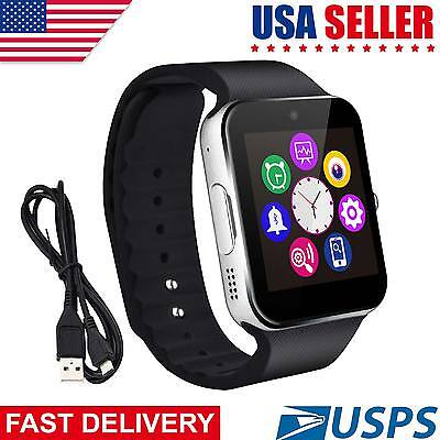Latest 2017 GT08  Bluetooth Smart Watch Phone Wrist Watch for Android and iOS US
