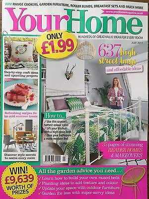 Your Home Magazine July 7/2017 637 High Street Buys Step-by-Step Craft Ideas