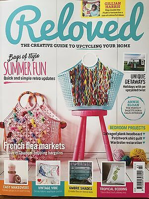 Reloved Magazine Issue 43 Bags of Style Summer Fun Bedroom Projects