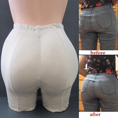 New Butt and Hip Enhancer Booty Booster Boyshorts Removable Padded Pads Panty