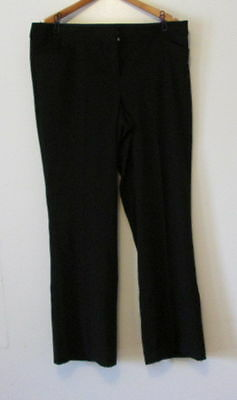 Lane Bryant Ashley Tailored Stretch Trousers With T3 Technology Size 14 Reg