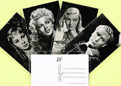 EDITIONS PI - 1940s Film Star Postcard s Issued in France #200-248 Cinema/Movie