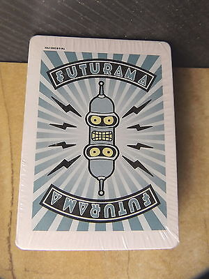 FUTURAMA DECK of PLAYING CARDS UNOPENED BRAND NEW RARE FIND Great Collectible