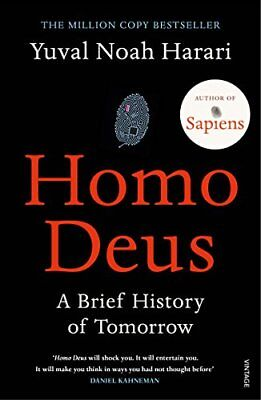 Homo Deus: A Brief History of Tomorrow by Yuval Noah Harari (Paperback, 2017)