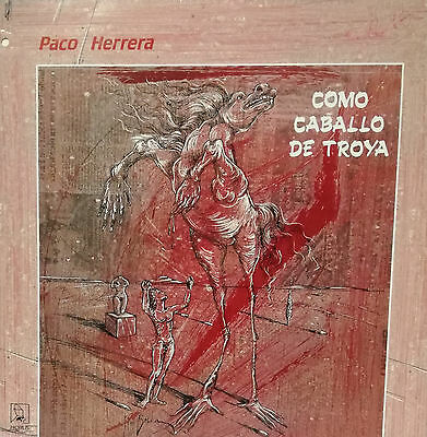 "Paco Herrera - Como Caballo De Troya Lp 12"" 1988 Good Condition"