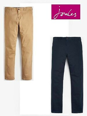 Joules The Chino Men's Trousers in Navy or Corn Sizes 32 - 38