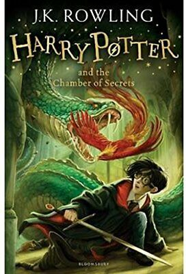 Harry Potter and the Chamber of Secrets: 2/7  by J.K. Rowling New Paperback Book