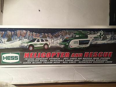 2012 Hess Truck - Helicopter and Rescue - In box