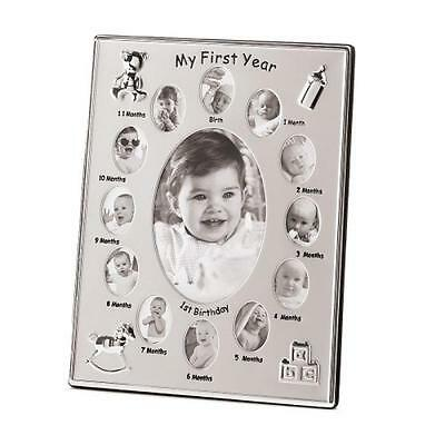 AEWH-39783-My First Year Baby Picture Frame