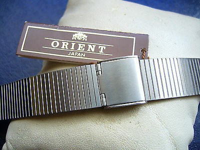 PULSERA RELOJ VINTAGE ORIENT BRACELET WATCH STRAP 18mm SHARK FOR SEIKO, CITIZEN