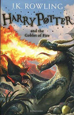 Harry Potter and the Goblet of Fire: 4/7 (Har by J.K. Rowling New Paperback Book