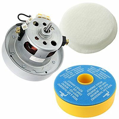 SPARES2GO YDK YV2200 Type Motor and Washable Filter Kit for Dyson DC07 Vacuum