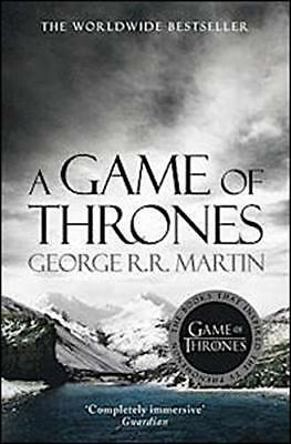 A Game of Thrones (A Song of Ice and Fi by George R.R. Martin New Paperback Book